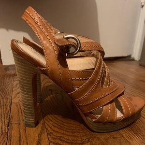 Coach Brynne High heeled Sandals; size 9.5